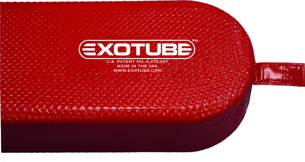 ExoTube Comp Logo on Tube