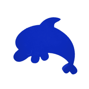 "Dan the Dolphin 16""x14""x1.5"" 