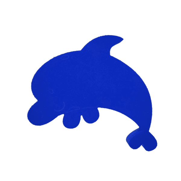 "Dan the Dolphin 24""x21""x1.5"" 