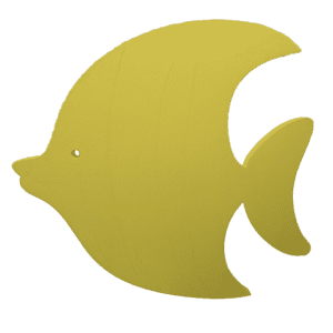 "Alan the Sunfish 36"" x 36"" x 1.5""™ 