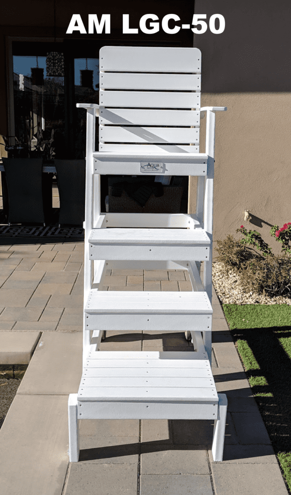 "Lifeguard Chair 50"" | Lifeguard Chairs | Lifeguard | Aquamentor"